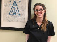 Elana Bougher, Licensed Practical Nurse.