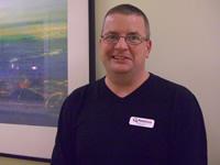 Sean McCutcheon, Receptionist