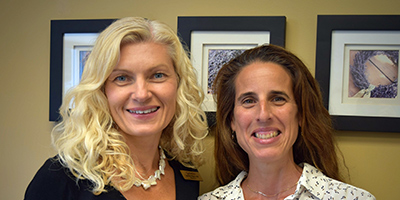Dr. Lauren Vigna and Jennifer Barresi, FNP from FirstCare Family Practice